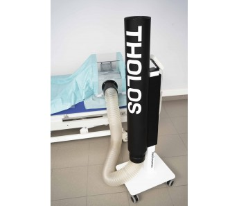 Tholos - system indywidualnej izolacji pacjenta i ochrony personelu medycznego przed zakażeniem SARS-CoV-2