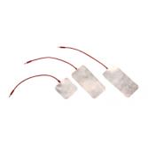 Elektroda do jonoforezy z folii cynowej 6cm x 12cm - złącze m2