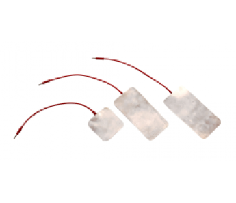 Elektroda do jonoforezy z folii cynowej 6cm x 6cm - złącze ż4