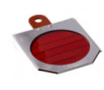 Filtr do lampy SOLLUX - czerwony