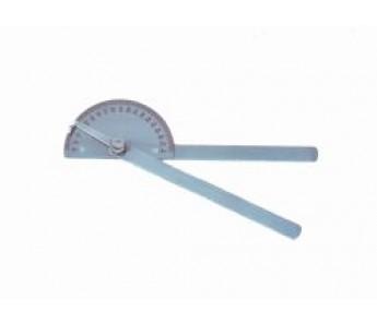 Goniometr metalowy – 20 cm (180st)