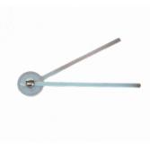 Goniometr metalowy – 35 cm 360st